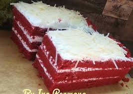 Resep Kue Red Velvet Kukus Dapur Masakan Mbak Anis