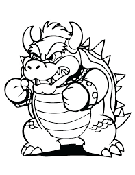 Bowser Coloring Pages Coloring Page Paper Coloring Pages Coloring