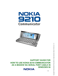 How to Use the Nokia 9210 Communicator ...