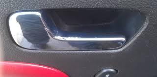 inside car door handle. 08 Redline Peeling Chrome Saturn Sky Forums Forum. The Most Amazing Interior Door Handle Inside Car