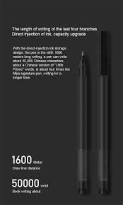 <b>Xiaomi Mijia 10</b> PCS Super Durable Writing Sign Pen 0.5mm Bullet ...