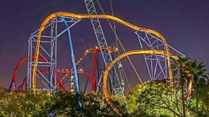 tigris track pleted at busch gardens ta new coaster