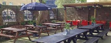 a lovely beer garden and plenty of outside seating