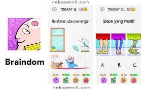 Tts indonesia # 214 jawaban: Kunci Jawaban Braindom Level 1 300 Terbaru Nekopencil