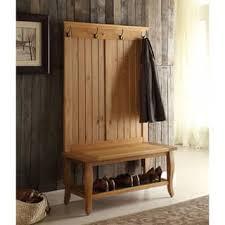 Hall Coat Rack Bench Coat Rack Bench For Less Overstock 60