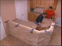 install granite countertop cost to install granite countertop homewyse