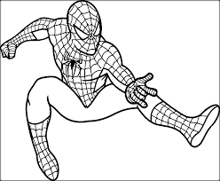 Spiderman Painting Pages Colouring Pages Spiderman Colouring Pages