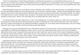 argumentative essay on elizabethan superstition at com essay on argumentative essay on elizabethan superstition
