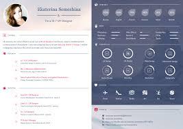 Ui Designer Resume UI UX Designer Curriculum Vitae On Behance 6