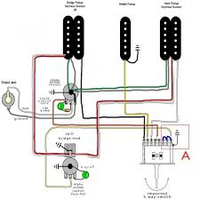 Wiring Diagrams For Split Humbuckers 1 Volume 1 Tone Humbucker Wiring 2 Tone 1 Volume