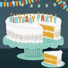 Birthday Party Evites Happy Birthday Cake Gif By Evite Find Share On Giphy