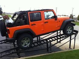 2018 jeep wrangler rubicon 4 door orange kid