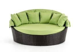 Round Outdoor Bed Renava Demi Lune Outdoor Green Round Bed