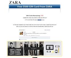 facebook users scammed with fake zara h m amazon gift cards