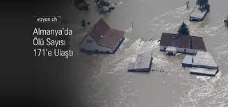 Almanya Sel Felaketinde Ölü Sayısı 171'e Ulaştı