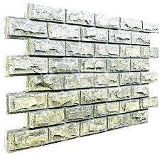 white brick wall tiles fake faux home depot w