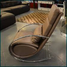 modern recliner chair. Bedroom Recliner Chair, The Best Place To Relax : Modern Chair With Brown Leather