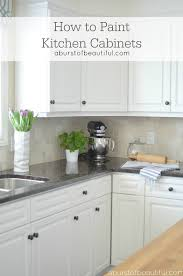 How To Paint Kitchen Cabinets A Burst Of Beautiful