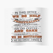 Nous Faisons Du Travail Déquipe Nous Aidons Nous Respectons Inspirational Quote Design Poster