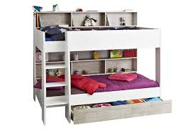 youth beds with storage. Unique Beds Charlie Storage Bunk With Free Drawer  White U0026 Stone Intended Youth Beds With