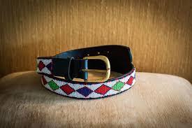 masai beaded belts 0012