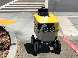 Rubber Design Sf Postmates Lands Permit To Test Its Serve Autonomous Delivery