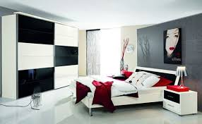 20 coolest black and red bedroom design