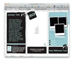 Brochure Template Mac Free Pages Templates Apple Vending Machine