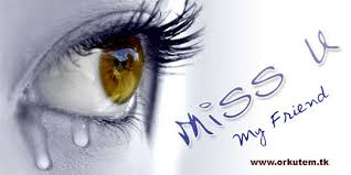miss you my friend tears in eye facebook cover picture