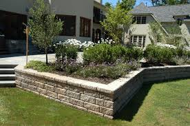 Backyard Retaining Wall Designs Magnificent Retaining Walls S R Quality Construction