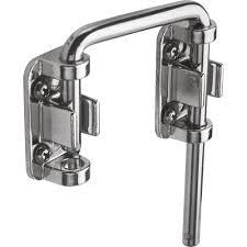 Door Knobs lockable door knobs images : Prime-Line U 9847 Sliding Door Loop Lock, 2-1/8 in., Hardened ...