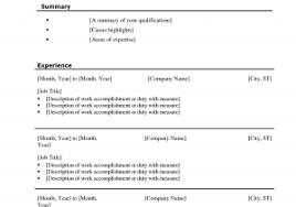 Microsoft Word Resume Templates For Mac Free Sample Microsoft Word