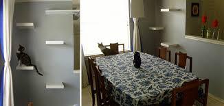 Corner Cat Shelves Simple And Elegant DIY Cat Climbing Shelves Hauspanther 91