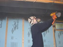Steps On How To Prep An Exposed Basement Ceiling For Painting - Painted basement ceiling ideas