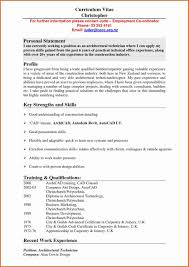 Personal Statement Examples For Resume Fresh Personal Statementr