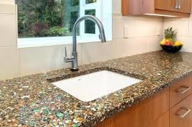 recycled material countertops for kitchen recycled glass modern kitchen with regard to recycled glass kitchen recycled