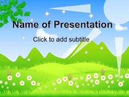 Spring Template For Presentation