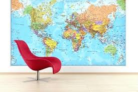 world map wall poster giant world large wall map world map wall poster uk