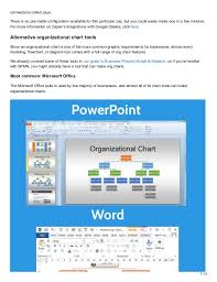 Microsoft Office Org Chart Tool How To Create The Organizational Chart You Know Your