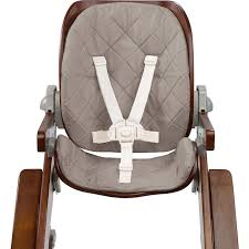 summer infant bentwood highchair replacement pad goose down gray