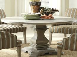 rustic round dining table pedestal dark finish eclectic room with leaf