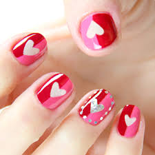 Exceptional Nail Design Along With Valentine Valentines Day Nails ...