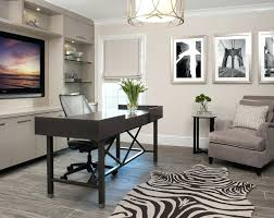 sherwin williams denver virtual taupe with mid back task chairs home office transitional and zebra rug