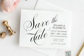Save The Date Template Printable Wedding Date Postcard