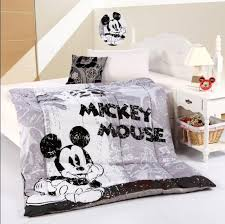 black and white mickey mouse bedding comforter quilt cotton reactive print home textile for kids twin queen beds carpets interface carpet