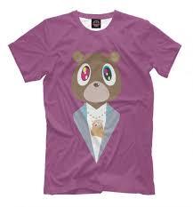 Kanye West Bear Hip Hop T Shirt High Quality Tee Mens Womens Sizes