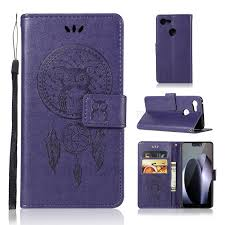 Imprint Owl <b>Dream Catcher</b> Card Holder Leather Phone Casing for ...