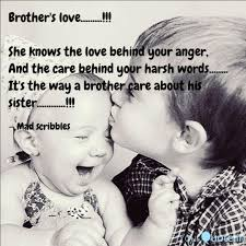 Brothers Love Quotes Writings By Anusha Shetty