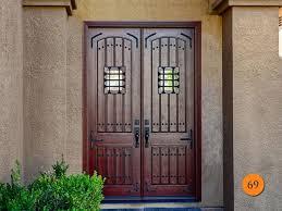 rustic double front entry door 2 30x96 5 foot wide
