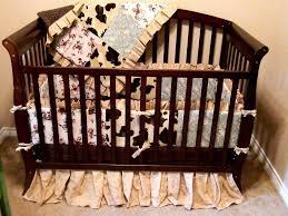 western baby boy crib bedding set style